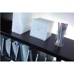 Cheap Stationery Supply of Triumph Metrix Lateral Steel Filing Rail (Black) MLFS10 Office Statationery