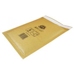 Jiffy Airkraft Bubble Bag Envelopes Size 8 450x650mm Gold Ref MAKC04221 Pack of 50