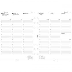 Cheap Stationery Supply of Filofax 2014 Appointment Diary Week to View for A5 Organisers 6852114 Office Statationery
