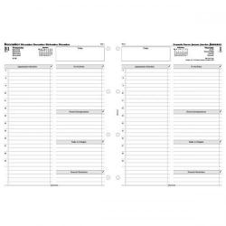 Cheap Stationery Supply of Filofax 2014 Day Per Page Diary Refill for A4 Organisers 6871914 Office Statationery