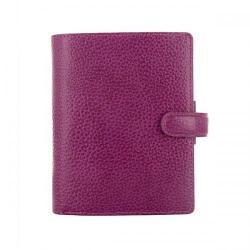 Cheap Stationery Supply of Filofax Finsbury Personal Pocket Organiser Raspberry 25342 Office Statationery
