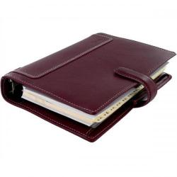Cheap Stationery Supply of Filofax Holborn Personal Organiser Wine 425124 Office Statationery
