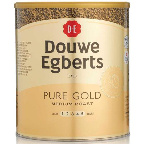 Douwe Egberts Pure Gold Instant Coffee For 470 Cups 750g 4041022