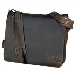 Cheap Stationery Supply of Pride and Soul Ben Shoulder Bag Laptop Leather Brown 47138 Office Statationery