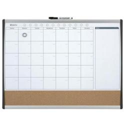 Cheap Stationery Supply of Rexel (585x430mm) Magnetic Monthly Organiser Calendar Combination Board 1903813 Office Statationery