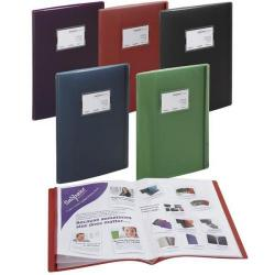 Cheap Stationery Supply of Snopake (A3/A4) Fusion Display Book with 20 A3 Pockets/40 A4 Pockets (Assorted Colours) Pack of 5 Display Books 15637 Office Statationery