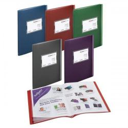 Cheap Stationery Supply of Snopake (A4/A5) Fusion Display Book with 20 A4 Pockets/40 A5 Pockets (Assorted Colours) Pack of 5 Display Books 15640 Office Statationery