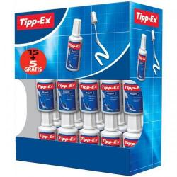 Cheap Stationery Supply of Tipp-Ex Rapid Correction Fluid Fast-drying 20ml White 8959501 Pack of 15 & 5 Office Statationery