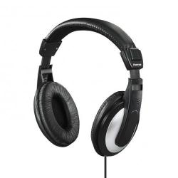 Cheap Stationery Supply of Hama Headphones Padded Over-Ear Circumaural Stereo 6m Cable Black 00135619 Office Statationery