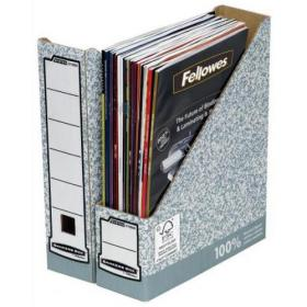 Fellowes Bankers Box Magazine File A4 Ref 0186004 Pack of 10