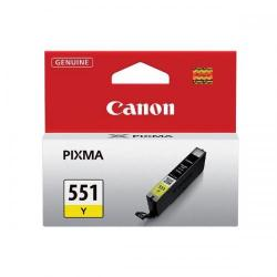 Cheap Stationery Supply of Canon CLI-551Y Inkjet Cartridge Page Life 330pp 7ml Yellow 6511B001 Office Statationery