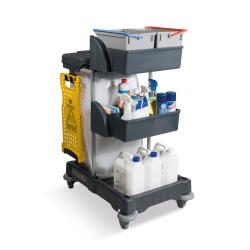 Cheap Stationery Supply of Numatic Xtra Compact XC3 Cleaning Trolley with 2 Buckets and 2 Tray Units W840xD570xH1060mm 906249 Office Statationery
