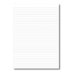 Cheap Stationery Supply of Cambridge (A4) Exercise Paper Ruled 8mm Unpunched 75gsm (Pack 5 x 500 Sheets) 100100776 Office Statationery