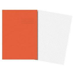 Cheap Stationery Supply of Cambridge (A4) Exercise Book Quadrille 5mm 80 Pages (Orange) - Pack 50 100100980 Office Statationery