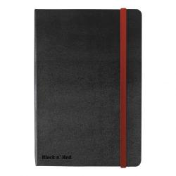 Cheap Stationery Supply of Black By Black n Red Business Journal Hard Cover Ruled and Numbered 144pp A5 400033673 Office Statationery