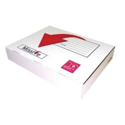 Cheap Stationery Supply of Connect Missive Value Small Parcel Postal Box 450x350x80mm 1 x Pack of 20 Boxes 7272101 Office Statationery