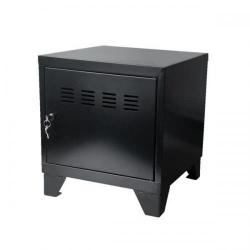 Cheap Stationery Supply of Pierre Henry Small Locker Cabinet With Feet Metal (Black) 95770 Office Statationery