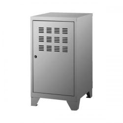 Cheap Stationery Supply of Pierre Henry Large Locker Cabinet with Feet Metal (Silver) 95701 Office Statationery