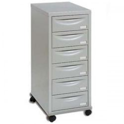 Cheap Stationery Supply of Pierre Henry (A4) Multidrawer Cabinet 6-drawer (Grey) 95362 Office Statationery