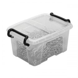 Cheap Stationery Supply of Strata Smart Box (0.4 Litre) Storage Box with Lid Clear HW678 HW678 Office Statationery