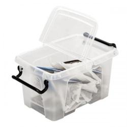 Cheap Stationery Supply of Strata Smart Storemaster Box 1.7 Litre Capacity Clear (Pack of 18) HW670 Office Statationery