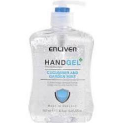 Cheap Stationery Supply of Enliven Hand Sanitizer Cucumber & Mint 500ml 502169 Office Statationery
