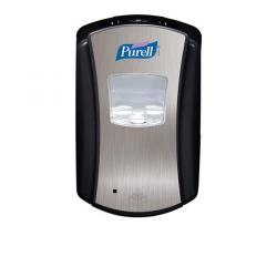 Cheap Stationery Supply of Purell Touch Free Hand Rub Dispenser LTX-7 700ml Chrome & Black X01163 Office Statationery