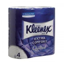 Cheap Stationery Supply of Kleenex Small Toilet Rolls White Pack of 40 Rolls with 160 Sheets 8444 Office Statationery