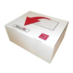 Cheap Stationery Supply of Connect Missive Value Medium Postal Box 264x280x103mm (1 x Pack of 20 Boxes) 7272201 Office Statationery