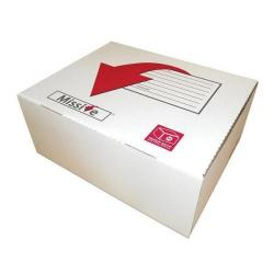 Cheap Stationery Supply of Connect Missive Value Medium Postal Box 375x247x155mm (1 x Pack of 20 Boxes) 7272301 Office Statationery