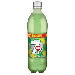 Cheap Stationery Supply of 7UP (600ml) Sugar Free Soft Drink (1 x Pack of 24) 200419 Office Statationery