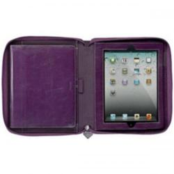 Cheap Stationery Supply of Filofax Malden Zip Leather Personal Organiser (Purple) for iPad 2/3 025825 Office Statationery