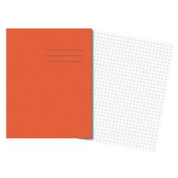 Cheap Stationery Supply of Cambridge Exercise Book 75gsm Quadrille 7mm 80 Pages (Orange) - Pack 100 100103044 Office Statationery