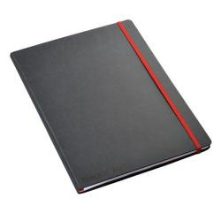 Cheap Stationery Supply of Black By Black n Red Business Journal Hard Cover Ruled and Numbered 144pp A4 400038675 Office Statationery