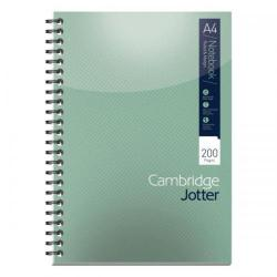Cheap Stationery Supply of Cambridge Jotter Nbk Wirebound 80gsm Ruled Margin Perf Punched 4 Holes 200pp A4 400039062 Pack of 3 Office Statationery