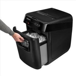 Cheap Stationery Supply of Fellowes AutoMax 150C Shredder Cross Cut P-4 4656001 Office Statationery