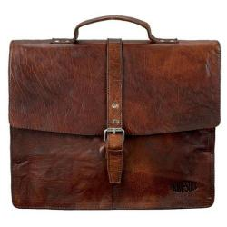 Cheap Stationery Supply of Pride And Soul Jayden Leather Laptop Bag (Brown) 47183 Office Statationery