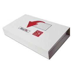 Cheap Stationery Supply of Connect Missive Small Postal Box 450x350x70mm Maximum (1 x Pack of 10 Boxes) 7273001 Office Statationery