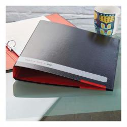 Cheap Stationery Supply of Black n Red by Elba Ring Binder Size 25mm A4 400051510 Office Statationery