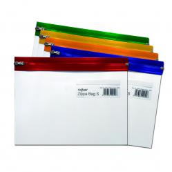 Cheap Stationery Supply of Snopake Zippa Bag S Classic A5 Assorted 12722 Pack of 25 Office Statationery
