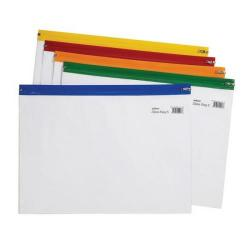 Cheap Stationery Supply of Snopake Zippa Bag S Classic A4 Plus Assorted 12814 Pack of 25 Office Statationery