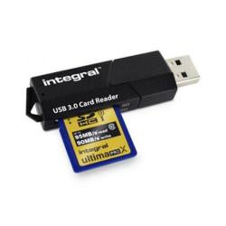 Cheap Stationery Supply of Integral Memory Card Reader SD and Micros Formats USB 3.0 Dual Slot INCRUSB3.0SDMSD Office Statationery