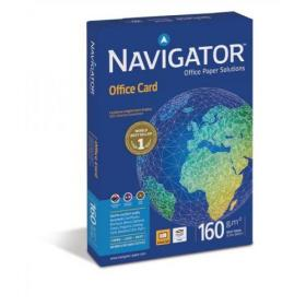 Navigator Office Prem Card FSC High Qlty 160gsm A4 Bright WhtRefNOC1600001250ShtsREDEMPTIONApr-June20