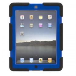 Cheap Stationery Supply of Griffin Survivor Military-Duty Case (Black/Blue) for iPad Mini GB35921 Office Statationery