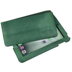 Cheap Stationery Supply of Pride And Soul Slade Leather Tablet Case (Green) 47239 Office Statationery