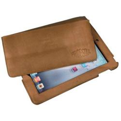 Cheap Stationery Supply of Pride And Soul Slade Leather Tablet Case (Brown) 47240 Office Statationery