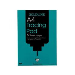 Cheap Stationery Supply of Goldline Heavyweight Tracing Pad 112gsm Acid-free Paper 50 Sheets A4 GPT3A4Z Pack of 5 Office Statationery