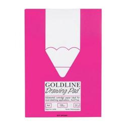 Cheap Stationery Supply of Goldline (A4) Standard Drawing Pad Acid-Free Cartridge Paper 120g/m2 25 Sheets GPS3A4Z Office Statationery