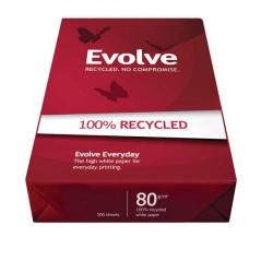 Cheap Stationery Supply of Evolve Everyday (A3) Paper Recycled Ream-Wrapped 80gsm (500 Sheets) EVOL80A3 Office Statationery