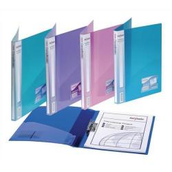 Cheap Stationery Supply of Snopake Electra (A4) Polypropylene Clamp Binder (Assorted Electra Colours) Pack of 10 Clamp Binders with Capacity  for up to 100 A4 80gsm Sheets Clear 12790 Office Statationery